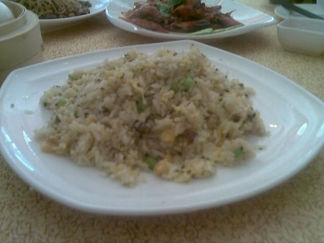 Fried rice with mushroom