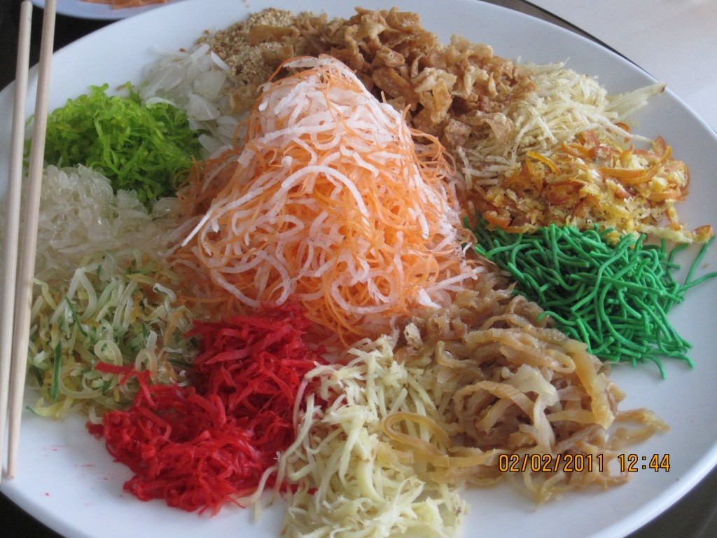 Chinese new year eve lunch delicious cuisines for Cuisine s
